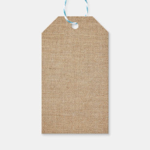 template burlap background gift tags