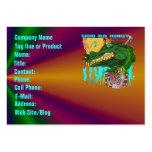 Template Business Card Mardi Gras