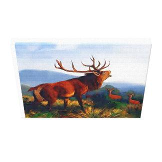 Template Canvas Print