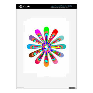 Template CHAKRA Style Art CUSTOMIZE add text image Skins For iPad 3