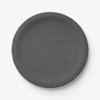 Template - Chalkboard Background Customize 7 Inch Paper Plate
