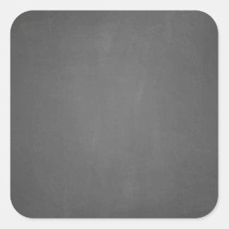 Template Chalkboard Background Square Sticker