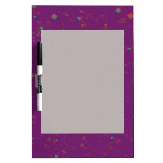 TEMPLATE Colored easy to ADD TEXT and IMAGE gifts Dry-Erase Whiteboards