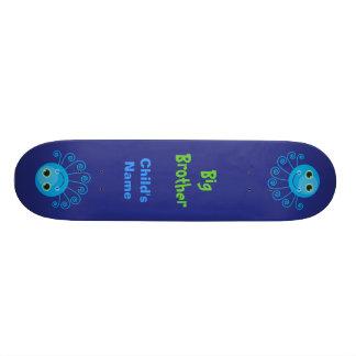 Template - Custom Octopus Big Brother Child's Name Custom Skate Board
