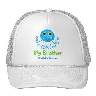 Template - Custom Octopus Big Brother s Name Trucker Hat
