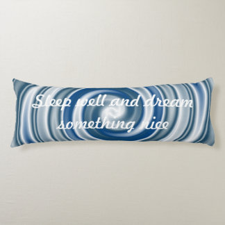 Template - Custom your text, image & background Body Pillow