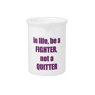 TEMPLATE Customer Reseller FIGHTER QUITTER Wisdom Beverage Pitcher