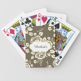 Template-DESIGN(c)Family-Name_Cards_Taupe- Bicycle Playing Cards