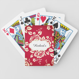 Template-DESIGN(c)Family-Name_Ricoleta_Red- Bicycle Playing Cards