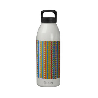 Template DIY add TEXT PHOTO Artistic Couture GIFTS Water Bottle