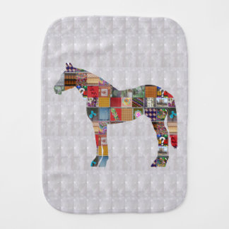 Template DIY Burp Cloth HORSE ANIMAL  fun