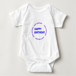Template DIY easy customize add TEXT IMAGE PHOTO Baby Bodysuit