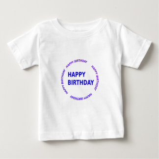 Template DIY easy customize add TEXT IMAGE PHOTO Baby T-Shirt