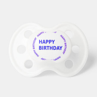 Template DIY easy customize add TEXT IMAGE PHOTO Pacifier