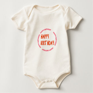 Template DIY easy customize add TEXT PHOTO IMAGE Baby Bodysuit