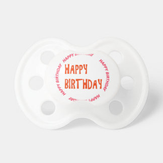 Template DIY easy customize add TEXT PHOTO IMAGE Pacifier