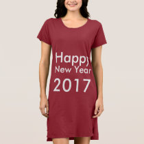 Template DIY editable text Happy New Year 2017 Dress