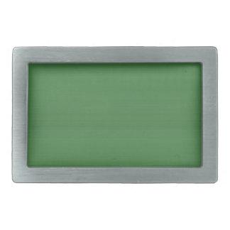 TEMPLATE DIY elegant green add text PHOTO IMG FUN Rectangular Belt Buckles