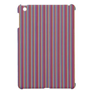 Template DIY gifts Creative lines colorful stripes Case For The iPad Mini