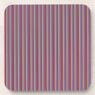 Template DIY gifts Creative lines colorful stripes Drink Coaster