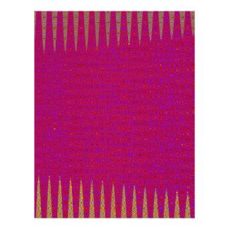 Template DIY Holy Purple add TEXT PHOTO IMAGE Letterhead
