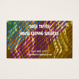 Template : DIY Replace your OWN TEXT n Image Business Card