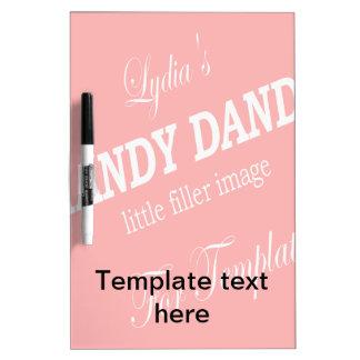 Template Dry Erase Board - Keep