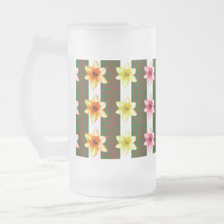 TEMPLATE editable delete add TEXT PHOTO base color Frosted Glass Beer Mug