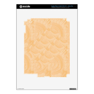 Template Engraved Gold Foil : Add Text Image Skin For iPad 3