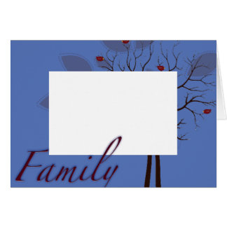 template family card