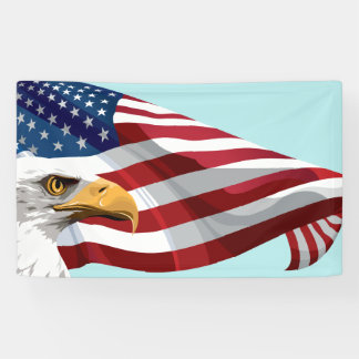 Template Flag and Eagle Banner