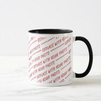 Template for Panoramic, Group or Class Photo Mug