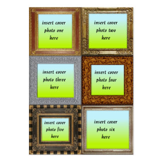 Template - Frames Large Business Cards (Pack Of 100)