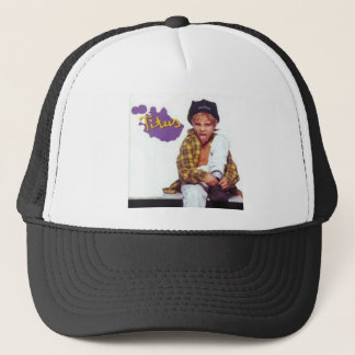 Template has trucker hat