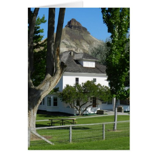 Template, Historic James Cant Ranch Greeting Card