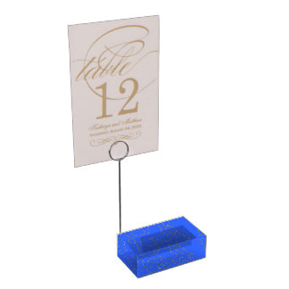 Template image card holders table card holders