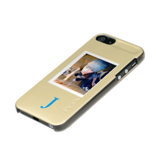 Template Image / text Metallic iPhone SE/5/5s Case