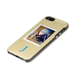 Template Image / text Metallic iPhone SE/5/5s Case
