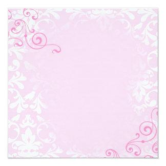 template 5.25x5.25 square paper invitation card