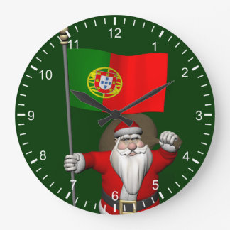 template large clock