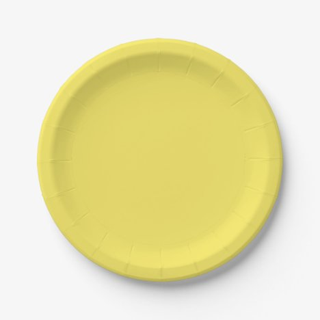 Template Maize Paper Plate
