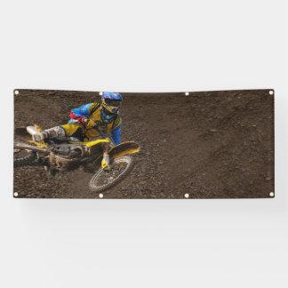 template Motocross dirt bike race Banner
