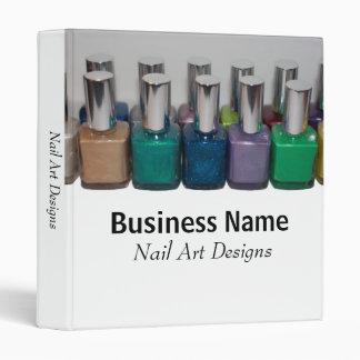 Template Nail Art Designs Binder