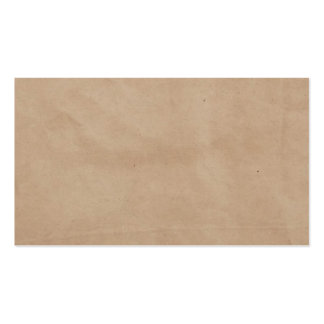 Template - Paper Bag Background Business Card