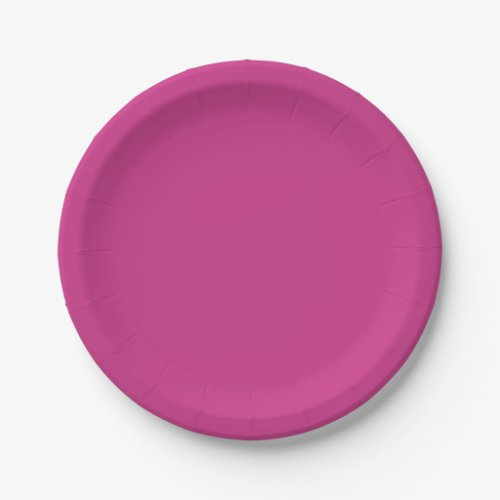 Template Peony Paper Plate