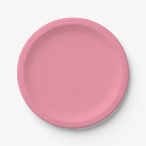 Template Pink Sherbet Paper Plate