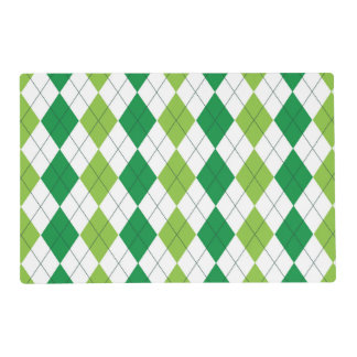 Template Placemat Laminated Place Mat