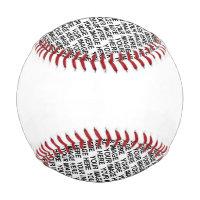 Template Recreation Baseball