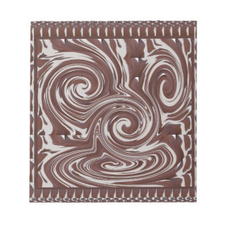 TEMPLATE Reseller Customer CHOCOLATE MONSTER Note Pad