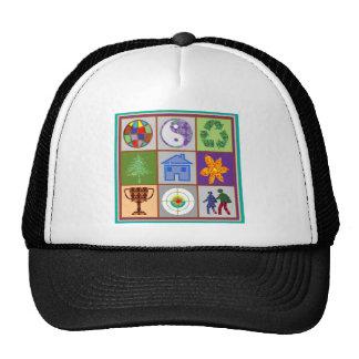 TEMPLATE reseller customer SYMBOLIC ART tell story Mesh Hats